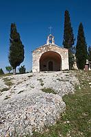Europe/France/Provence-Alpes-Côte d'Azur/13/Bouches-du-Rhône/ Eygalières: La Chapelle Saint-Sixte du XII°