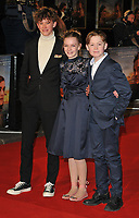 Finn Elliot, Eleanor Stagg and Kit Connor at the &quot;The Mercy&quot; world film premiere, Curzon Mayfair cinema, Curzon Street, London, England, UK, on Tuesday 06 February 2018.<br /> CAP/CAN<br /> &copy;CAN/Capital Pictures
