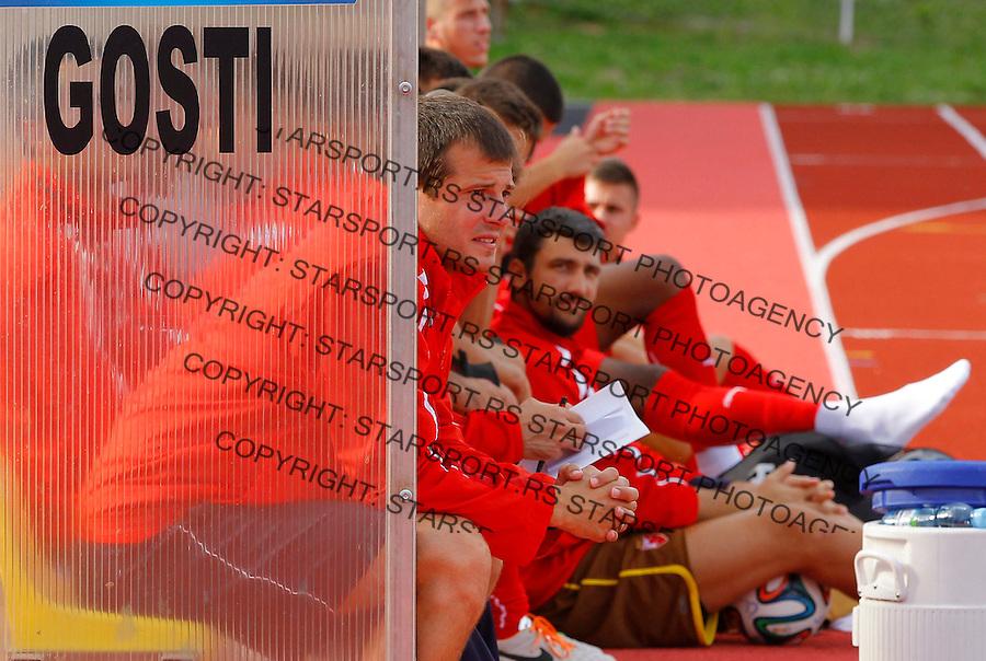 Fudbal season 2013-2014<br /> FK Crvena Zvezda pripreme<br /> Crvena Zvezda v Krka<br /> Head coach Nenad Lalatovic <br /> Novo Mesto, 07.12.2014.<br /> foto: Srdjan Stevanovic/Starsportphoto &copy;