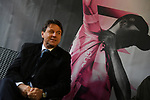 The Prime Minister Giuseppe Conte paid a visit to the Corsa Rosa today at sign on before Stage 5 of the 2019 Giro d'Italia, running 140km from Frascati to Terracina, Italy. 15th May 2019<br /> Picture: Gian Mattia D'Alberto/LaPresse | Cyclefile<br /> <br /> All photos usage must carry mandatory copyright credit (© Cyclefile | Gian Mattia D'Alberto/LaPresse)