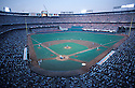 Overall of the Anaheim Stadium in Anaheim , California during a home game of the California Angles against the Milwaukee Brewers 1982.David Durochik/SportPics