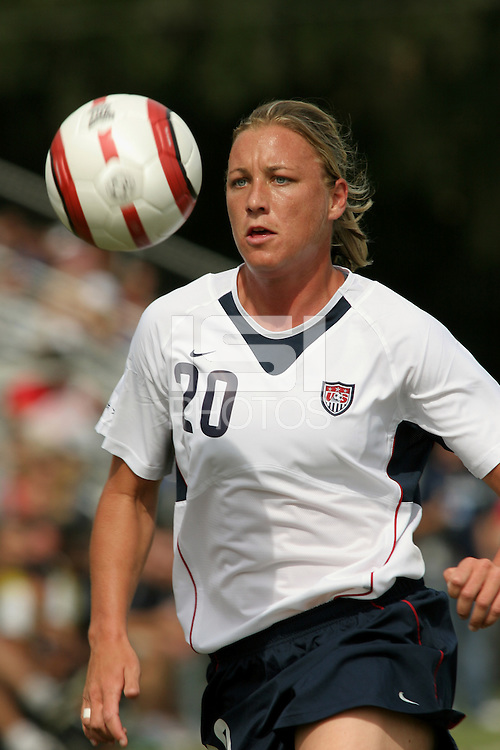 Abby Wambach.during USA vs Mexico Women's National Team match at Blackbaud Stadium in Charleston, South Carolina. the US beat Mexico 3-0 on two goals from Abby Wambach and one from Kristine Lilly.