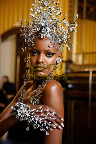 Baroqco Kraton Jewels Haute Couture<br /> Paris Fashion week Haute Couture 2019<br /> Paris, France in July 2019.<br /> CAP/GOL<br /> ©GOL/Capital Pictures