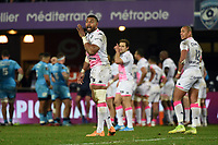Waisea VUIDRAVUWALU of Stade Francais  during the Top 14 match between Montpellier and Stade Francais at Altrad Stadium on December 28, 2019 in Montpellier, France. (Photo by Alexandre Dimou/Icon Sport) - Waisea NAYACALEVU - Altrad Stadium - Montpellier (France)
