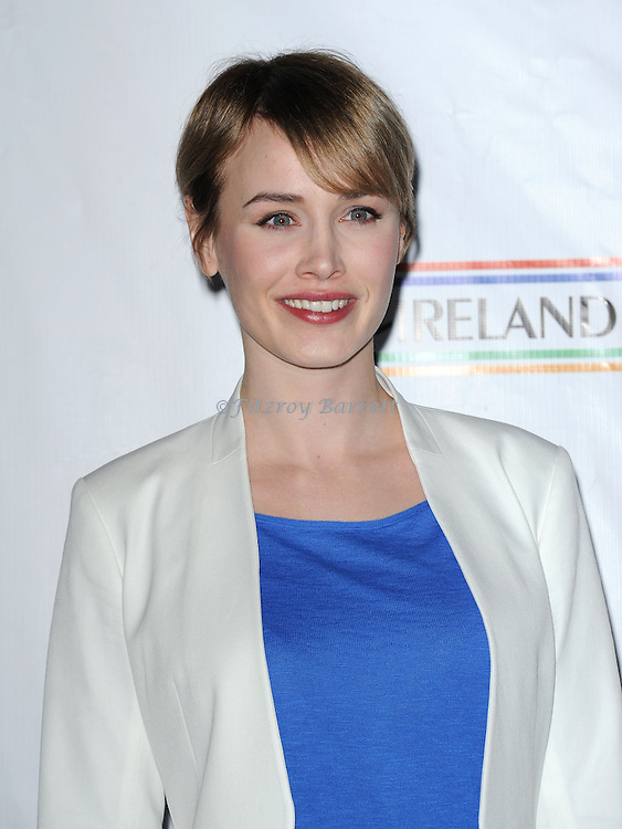 Dominique McElligott attending the Oscar Wilde Honoring The Irish in Film Pre-Academy Awards party, held at Bad Robot Studio in Los Angeles, CA. February 21, 2013