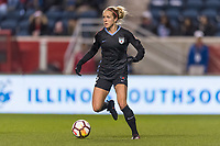 Bridgeview, IL - Saturday March 31, 2018: Nikki Stanton during a regular season National Women's Soccer League (NWSL) match between the Chicago Red Stars and the Portland Thorns FC at Toyota Park.