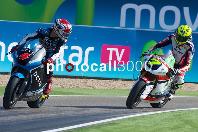 Gran Premio Movistar de Aragón<br /> during the moto world championship in Motorland Circuit, Aragón<br /> krummenacher<br /> baldasarri<br /> PHOTOCALL3000