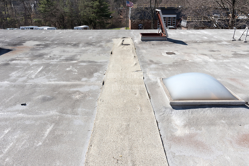 Roof Replacement For Lower Fairfield Center 148 Silvermine Avenue Norwalk, CT<br /> Connecticut State Project No: BI-NN-673<br /> Architect: Kenneth Boroson Architects, LLC  Contractor: Greenwood Industries, Inc<br /> James R Anderson Photography New Haven CT photog.com<br /> Date of Photograph: 30 March 2016<br /> Camera View: 05 - Building 2