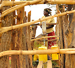 In northern Uganda, women from remote villages access safe drinking water from dozens of new wells.   The bore holes are a component of U.S. AID and Winrock International's  $30 million NUDEIL project to help revitalize the impoverished, war-torn region.  The new wells reduce long distances most residents travel for their water.