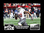 Photo collage of Deone Bucannon during his college football career at Washington State University.