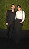 actor Alessandro Nivola and wife Emily Mortimer attend the Chanel Tribeca Film Festival Artists Dinner on April 23, 2018 at Balthazar Restaurant in New York, New York, USA.<br /> <br /> photo by Robin Platzer/Twin Images<br />  <br /> phone number 212-935-0770