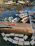 Lobster Holds, Saddlers Cove Dock On Sheepscot River