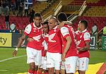 Bogotá- Indepentiente Santa Fe venció 1 gol por 0 a Millonarios, en el partido correspondiente a la séptima fecha del Torneo Clausura 2014, desarrollado en el estadio Nemesio Camacho 'El Campín'. Omar Pérez anotó para Santa Fe en el minuto 64.