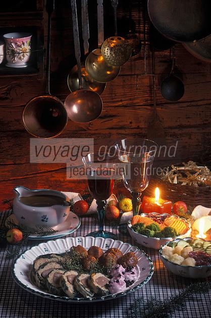 """Europe/Autriche/Tyrol : Filet de chevreuil à la mousse de sureau - Recette du chef de l'hôtel """"Penzinghof"""""""