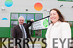 Barry Duggan welcomes Kate Murphy from Southern Scientific who have relocated their business to 4Park in Farranfore