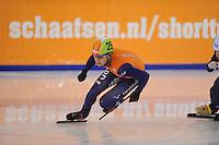 SHORTTRACK: AMSTERDAM: Jaap Edenbaan, 03-01-2015, NK Shorttrack,Sjinkie Knegt,  ©foto Martin de Jong