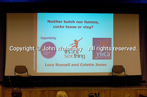 Sex & Relationships Education Conference at the Institute of Education, London.