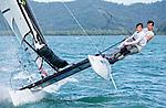 FranceSirena SL16OpenCrewFRACD47Charles Dorange<br /> FranceSirena SL16OpenHelmFRALF25Louis Flament<br /> Day4, 2015 Youth Sailing World Championships,<br /> Langkawi, Malaysia
