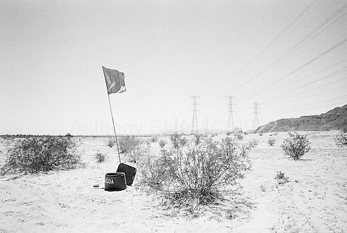 Calexico, California<br /> May 16, 2008<br /> <br /> Humanitarian organizations have set water in the desert to aid illegals immigrants from dehydrating if they cross the border and loose their way.<br /> <br /> This California water station is west of Calexico.