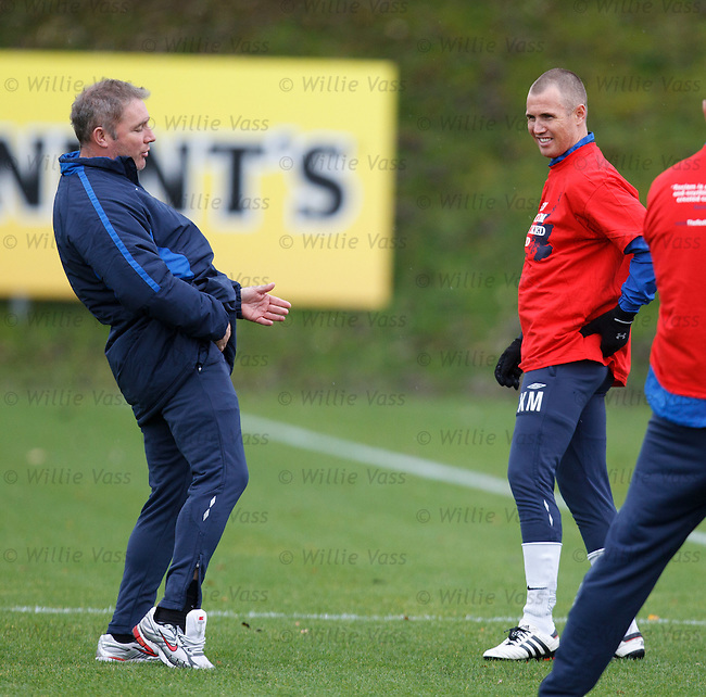 Ally McCoist and Kenny Miller