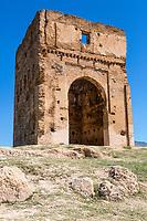 Fes, Morocco.  Merenid Tomb, 14th. Century.