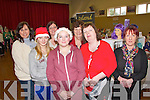 Pictured at the Crafts Fair which took place in Knocknagoshel Community Centre on Sunday Back Row L-R Deirdre Bell of Island Flowers, Cathy Duncan of Knocknagoshel Youth Club and Anne Coffey.  Front Row L-R : Amy Duncan and Tara O'Shea of Knocknagoshel Youth Club, Catherine Coffey and Catherine Curtin of Mirror Image Hair Salon.  All of Knocknagoshel.
