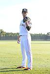 Junichi Tazawa (Marlins),<br /> FEBRUARY 18, 2017 - MLB :<br /> Miami Marlins Photo Day in Jupiter, Florida, United States. (Photo by AFLO)