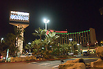 Commerce Casino in a night view