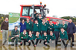 Students from Killorglin Community College participated in the Tractor safety course in Killorglin on Wednesday were front row l-r: Jim Dockery (FRS National Trainer), Kieran Breen, Patrick Enright, Gerard Naughton, John Murphy, Philip Jones, John Rahilly. Back row: Emmet Spring (SKDP Rural Development Officer), Mary Barton (SWDP accel project officer), Eoghan o'Sullivan, Nicolas Keane, Kieran Doona, Aidan Flynn-Sheahan, Michael sheehan, Sean McGillicuddy, Danny O'Sullivan, Jared McGillicuddy, Michael Rahilly, George Dennis Agricultural Science Teacher     Copyright Kerry's Eye 2008