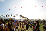 Music fans at Weekend 1 of the Coachella Valley Music and Arts Festival in Indio, California April 10, 2015. (Photo by Kendrick Brinson)