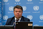Press Conference on Climate change by the Secretary-General of the World Meteorological Organization
