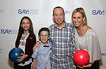Lily Gottfried, Max Gottfried, Gilbert Gottfried and Dara Kravitz attends the Paul Rudd hosts the Sixth Annual Paul Rudd All Star Bowling Benefit for (SAY) on January 22, 2018 at the Lucky Strike Lanes in New York City.