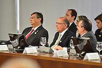 BRASÍLIA, DF, 20.06.2016 – TEMER-GOVERNADORES – O presidente do Senado, Renan Calheiros durante reunião com Governadores, na tarde desta segunda-feira, 20, no Palácio do Planalto.  (Foto: Ricardo Botelho/Brazil Photo Press)