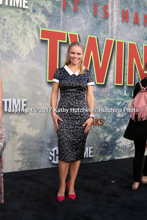 """LOS ANGELES - MAY 19:  Lauren Bowles at the """"Twin Peaks"""" Premiere Screening at The Theater at Ace Hotel on May 19, 2017 in Los Angeles, CA"""