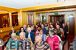 Many attended the Launch of the Paddy O'Keeffe annual traditional Irish music Festival last Friday night in the RiverIsland hotel in Castleisland.
