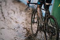 Super splashy race conditions at the Superprestige cyclocross in Hoogstraten (BEL) / 2019<br /> <br /> Elite Men's Race<br /> <br /> &copy;kramon