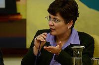SAO PAULO, 06 DE JUNHO DE 2012 - SOLENIDADE 16 MES ORGULHO LGBT - Representando a Senadora Marta Suplicy a assessora Montserrat Bevilaqua em solenidade do 16 mes do orgulho LGBT, na Camara Municipal de Sao Paulo, regiao central, na noite desta quarta feira.  FOTO: ALEXANDRE MOREIRA - BRAZIL PHOTO PRESS