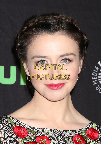LOS ANGELES, CA - MARCH 19: Caterina Scorsone at the 34th Annual PaleyFest presentation of Grey's Anatomy at the Dolby Theater in Los Angeles, California on March 19, 2017. <br /> CAP/MPI/DE<br /> &copy;DE/MPI/Capital Pictures