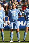 08 November 2009: North Carolina's Amber Brooks. The University of North Carolina Tar Heels defeated the Florida State University Seminoles 3-0 at WakeMed Stadium in Cary, North Carolina in the Atlantic Coast Conference Women's Soccer Tournament Championship game.