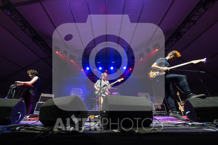 Spanish music Triangulo de Amor Bizarro at Dcode music festival in Madrid. September 10, 2016. (ALTERPHOTOS/Rodrigo Jimenez)