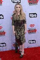 Sabrina Carpenter @ the 2016 iHeart Radio Music awards held @ the Forum.<br /> April 3, 2016