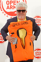MADRID, SPAIN-May 31: Pedro Almodovar attenda a charity dinner with the objective of raising funds for Proactive Open Arms to increase their surveillance at Jardines de Cecilio Rodriguez on May 31, 2018 in Madrid, Spain   May31, 2018.  ***NO SPAIN***<br /> CAP/MPI/RJO<br /> &copy;RJO/MPI/Capital Pictures