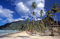 Trinidad & Tobago, Commonwealth, Trinidad, Maracas Bay; famous beach in the north