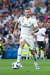 Real Madrid Toni Kroos  during Santiago Bernabeu Trophy match at Santiago Bernabeu Stadium in Madrid, Spain. August 11, 2018. (ALTERPHOTOS/Borja B.Hojas)