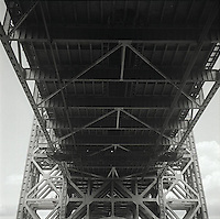 Underside of the George Washington Bridge<br />