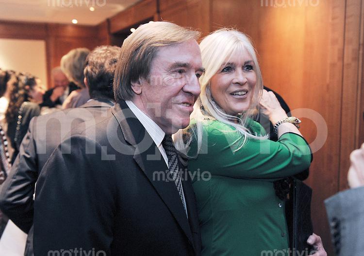 Zuerich, 10.03.2016 Ex-FIFA-Praesident Joseph Sepp Blatter feiert seinen 80. Geburtstag: Elvira (re) und Guenter Netzer