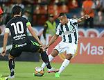 Con tantos de Alexis Henríquez y Jefferson Duque, Atlético Nacional se impuso 2-0 ante Equidad, este sábado por la noche en el Atanasio Girardot, en duelo de la fecha 9 del Clausura 2015.