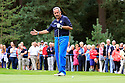 WOBURN, ENGLAND - SEPTEMBER 02:  Sam Torrance of Scotland in action during the final round of the Travis Perkins plc Senior Masters played at the Duke's Course, Woburn Golf Club on September 2, 2012 in Woburn, United Kingdom.  (Photo by Phil Inglis/Getty Images) *** Local Caption *** Sam Torrance