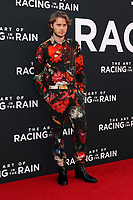 """LOS ANGELES - AUG 1:  Logan Shroyer at the """"The Art of Racing in the Rain"""" World Premiere at the El Capitan Theater on August 1, 2019 in Los Angeles, CA"""