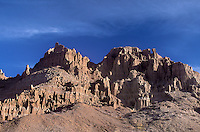 731950016 panaca formations at sunrise in cathedral gorge state park nevada